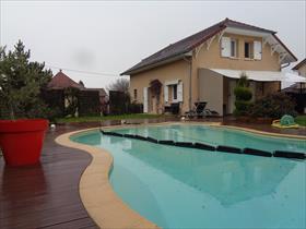 Maison - les AVENIERES-VEYRINS-THUELLIN - Réf. 4746D VILLA T5 10 min. Est TOUR DU PIN