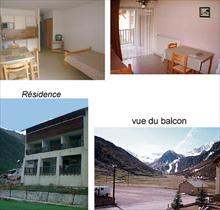 Appartment/Flat - CEILLAC - STUDIO 2 PERS 2* LE CRISTILLAN H3