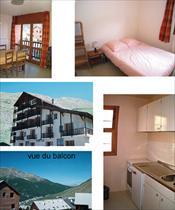 Appartment/Flat - MOLINES  - APPARTEMENT 3 PERS 1* LES CIMES 2A3 4A3 5A3