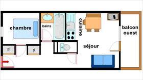 Appartement - LANSLEBOURG - APPARTEMENT 4 PERSONNES - 28,83 M²