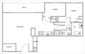 Appartement - AUSSOIS - APPARTEMENT 3 PIECES AVEC MAGNIFIQUE VUE MONTAGNE