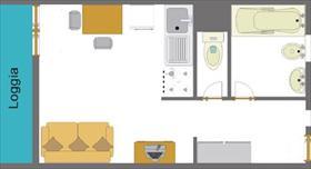 Appartement - CEILLAC - STUDIO 2 PERS 2* LE CRISTILLAN H2