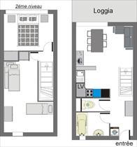 Appartement - CEILLAC - APPARTEMENT 5 PERS 3* LE CRISTILLAN I12