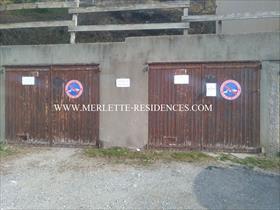Stationnement - ORCIERES - Garage individuel et fermé - Les Plautus