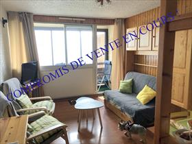 Appartement - ORCIERES - Studio Cabine en dernier étage en façade