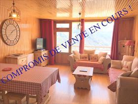 Appartement - ORCIERES - Très joli STUDIO CABINE + CAVE + GARAGE !