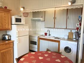 Appartement - ORCIERES - Studio Cabine et GARAGE individuel et fermé
