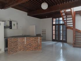 Appartement - Embrun - Charmant T3 en duplex au coeur du centre-ville