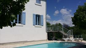 Maison - Puy-Saint-Eusèbe - Superbe Villa avec piscine avec vue sur le lac